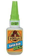 Gorilla Glue Super Glue Gel 15g - Ideal for Metal, Wood, Ceramic, Paper, Rubber