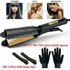 Professional Salon Ceramic Tourmaline Steam Ionic Flat Iron Hair Straightener