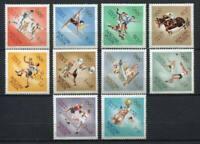 31879) Hungary 1964 MNH Olympic G. Tokyo 10v