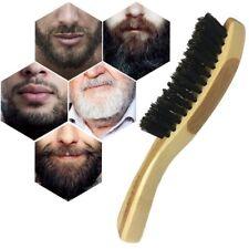 Men Beard Hai Long Handle Boar Bristle Beard and Moustache Brush For Untangling