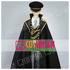 K Project Isana Yashiro Spoon Military Uniform Cosplay Costume With Cloak