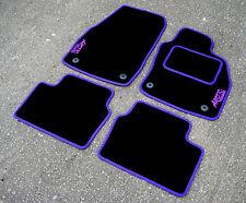 negro/Violeta Alfombras de coche - OPEL ASTRA H / MK5 VXR 04-10 + ARCTIC Edition