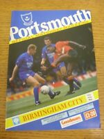 05/09/1992 Portsmouth v Birmingham City  . Thanks for viewing this item, buy wit