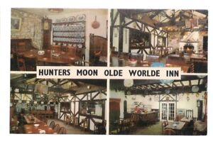 HUNTERS MOON INN, RUMBLEWAY CARAVAN PARK, TENBY, WALES  unused vintage postcard