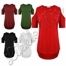 Unbranded Women's No Pattern Polyester Short Sleeve Sleeve Tops & Shirts