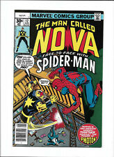"""NOVA #12 [1977 NM-] """"FACE-TO-FACE WITH SPIDER-MAN"""""""