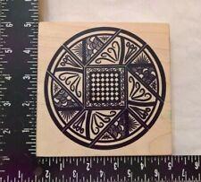 CC Rubber Pinwheel Explosi Rubber Wood Stamp
