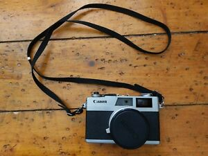 Canon Canonet 28 - tested and working with lens cap