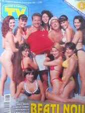 TV Sorrisi e Canzoni n°33 1994 Shannen Doherty Tiffani Amber Thiessen [D6]
