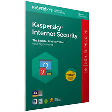 Kaspersky Internet Security 2018 1 Year Protection Antivirus For Up To 3 Devices