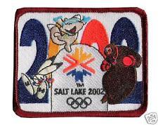 SALT LAKE CITY 2002 WINTER OLYMPIC MASCOTS OTTO OTTER