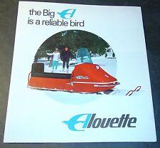 VINTAGE 1968 ALOUETTE SNOWMOBILE SALES BROCHURE NICE 6 PG  (722)