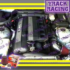 98 99 00 BMW M3 Z3 Z COUPE/ROADSTER 3.2L E36 AIR INTAKE KIT+K&N Black Red