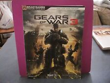 BRADY GAMES GEARS OF WAR 3 SIGNATURE SERIES GUIDE ONLY