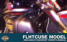 2006 HARLEY-DAVIDSON CVO FLHTCUSE ULTRA CLASSIC OWNERS MANUAL -FLHTCUSE