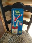 Vintage+L%26M+Cigarettes+Advertising+Working+Thermometer+Tobacco+3D+metal+Sign