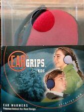 180S EAR GRIPS Kids NEW Ear Muff Warmer Behind the Head Warm RED UNISEX