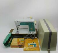 Vintage Singer Touch & Sew Sewing Machine Deluxe Zig Zag Model 628 BUNDLE EXC!