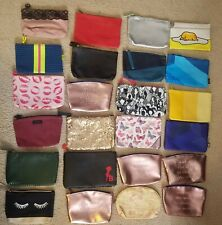 Lot Of 24 IPSY makeup Bags NO PRODUCTS Tetris Gudetama Betty Boop NEW unused