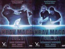Israeli Self Defense Krav Maga 2 Dvd Set Jurgen Kohler knife & self defense