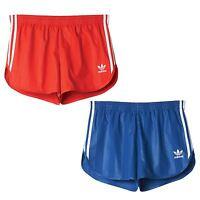 adidas ORIGINALS RETRO FOOTBALL SHORTS BLUE RED XXS - XXL SUMMER COOL CASUALS