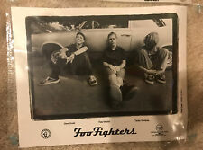 Foo Fighters Promo Picture Black And White Leaning On Car Rca