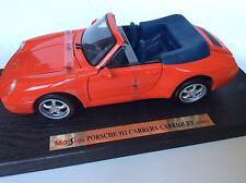 Porche 911 Carrera Cabriolet (1994) 1:18 Maisto