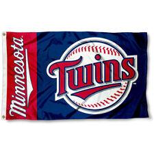 MINNESOTA TWINS FLAG 3'X5' MLB BANNER: FAST FREE SHIPPING