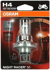 1 x H4 motos lámpara linterna halógena Osram night racer 50 64193NR5