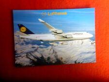 LUFTHANSA  BOEING 747-400 D-ABVA POSTCARD UNUSED AUSTRALEX