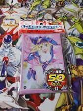 Yu-gi-oh 50 protège carte sleeve dark Magician girl magicienne des tenebres sexy