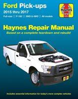Ford Full Size F-150 Haynes Repair Manual (2015-2017)