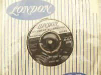 BOBBY DAY BLUE HEAVEN / I DON'T WANT TO London 9044 vg plays ex