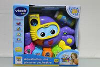 VTech Baby Aquabulles ma Pieuvre Orchestre, Pour le Bain, Spanisch (Q265-R26)