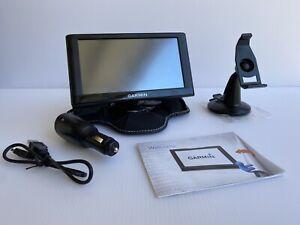 "Garmin Nuvi 6"" Screen GPS Nuvi 65LMT Car USB Charger & Mount Bundle EUC No Box"