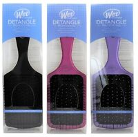 The Wet Brush Pro Select Paddle Hair Brush Pink Black Purple Green
