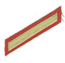USMC Marine Corps Enlistment Stripe:  4 Years (1 stripe) - dress, left side