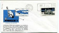 1972 Pioneer F Mission Jupiter Cape Kennedy Space Center Atlas-Centaur NASA SAT