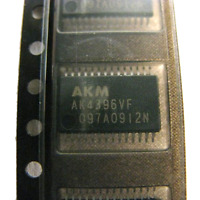 "GENUINE AKM AK4396 192kHz 24-Bit ""Miracle DAC"";  Asahi AK4396VF SOIC Authentic"