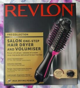 Revlon Salon One-Step Hair Dryer & Volumizer - Black / Pink