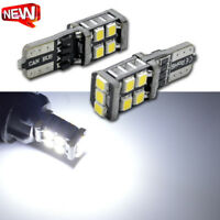 10pcs White T10 W5W 2835 11SMD LED Indicator Side Light Dash Map Lamp Wedge Bulb