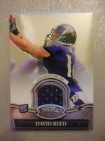 2010 Bowman Sterling Rookie RC Jersey David Reed