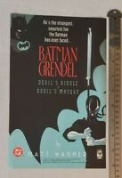 Batman Grendel RARE Print Advertisement