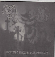 """Silberbach /  Moontower  – Satanic March For Victory  7"""""""