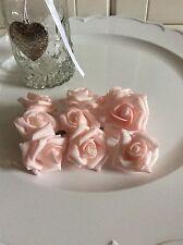 Foem Kunstrose Rose Hochzeit Deko Blume Komunion Gesteck Shabby Landhaus Chic