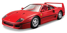 Bburago 1:24 Ferrari F40 Diecast Model Sports Racing Car Vehicle Toy IN BOX