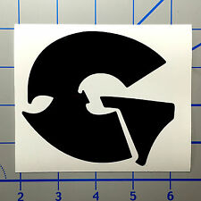 "GZA Wu Tang 5"" Black Vinyl Decal Sticker BOGO"
