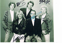 Status Quo Hand signed Photograph  10 x 8