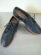 Wittner Quinn Black Leather Shoes Flats Loafer Size 40 New. $239