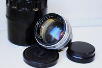 RARE 1963 SILVER JUPITER-3 1,5/50mm Soviet lens Contax/Kiev mount EXC
